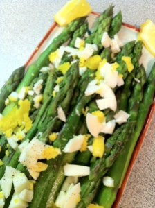 asparagus w: egg